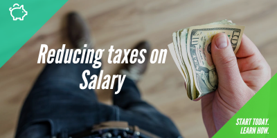 Reduce taxes on salary